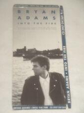 Bryan Adams Into The Fire Cd Longbox Empty No Cd Long Box Only