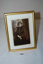 C203 Ancienne photo militaire - sous cadre