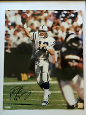 Peyton Manning Indianapolis Colts 16x20 Autographed Photo COA NFL Denver Broncos