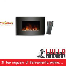 CAMINO CAMINETTO ELETTRICO A PARETE  CON TELECOMANDO 900-1800W EF-11C