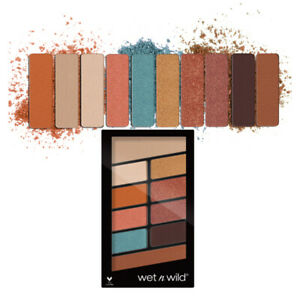 WET N WILD Color Icon Eyeshadow 10 Pan Palette - Not A Basic Peach (3 Pack)