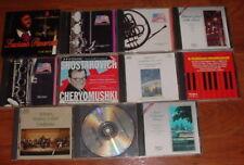 Classical Music 12 CD Lot ~ USED ~ Mozart Tchaikovsky Sibelius Strauss Pavarotti