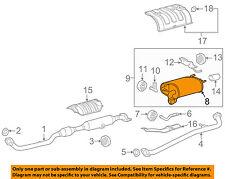 TOYOTA OEM 12-17 Camry 2.5L-L4-Muffler 174300V031