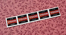 Lot of 5 AMD A10 Vision Stickers 16.5 x 19.5mm APU A Seies Case Badges