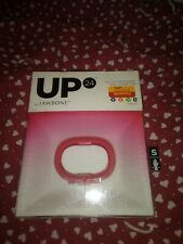 UP 24 by Jawbone Activity Tracker fitness wristband in box wrist band pink small