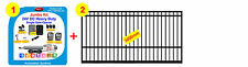 3m Single Swing Gate w Linear Gate Automation System - Flat Top Gate Squares