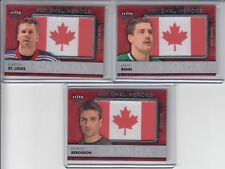 14/15 Fleer Ultra Team Canada Martin St. Louis National Heroes Flag Patch #NH-MS