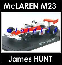 1/43 - McLAREN M23 : James HUNT - 1976 - Die-cast - RBA FORMULA1