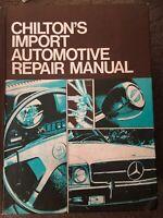 Chilton's Hardcover  1972-1977 Import Automotive Repair Manual, 4th Edition