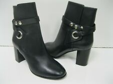 Isabel Marant Ashes Ankle Boot Shoes Wrap Strap Midnight Chunky Heel NEW 38 $975