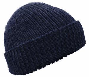 BLAUER PETER - Merino-Strickmütze - Beanie - uni - 10 Farben