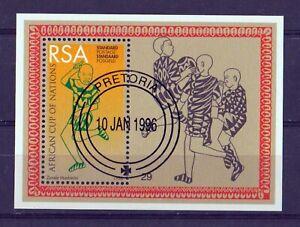 SOUTH AFRICA RSA 1996 African Cup of Nations. MNH MINIATURE SOUVENIR SHEET