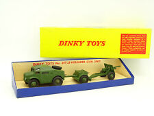 Dinky Toys GB Militaire 1/43 - 25 Pounder Field Gun Set 697