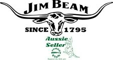 Jim Beam Since 1795 vinyl cut decal  260 x  85 mm *NO BACKGROUND* BUY 2 & Get 3