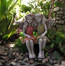 Outdoor Statue Garden Decoration Sturdy Weather Resistant Girls Figure Patio