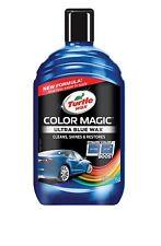 New Turtle Wax Ultra Blue Color Magic Car Truck Polish Shines Restores Scratches
