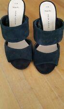 New Look Block Patternless Suede Upper Heels for Women