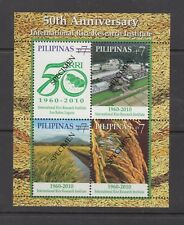 Philippine Specimen Stamps 2010 International Rice Research Institute Souvenir S