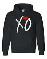XO THE WEEKND hoodies , Hooded Sweatshirts XO TILL OVOXO XO THE WEEKND Black