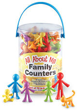 Learning Resources All About Me Family Counters - Set 72 - NEW
