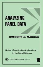 Analyzing Panel Data (Quantitative Applications in the Social Sciences), Biostat