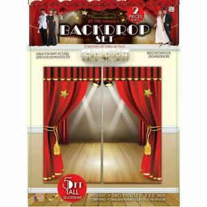Party Photo Booth Accessory Pack, At The Movies Backdrop