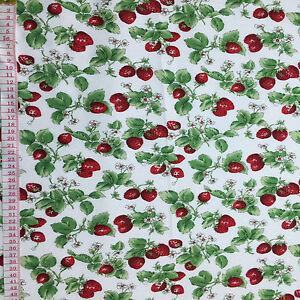 Cotton Quilt fabric Print fabric (Strawberry)per meter