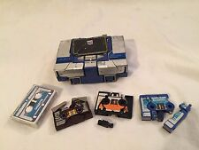VINTAGE 1984 Hasbro TRANSFORMERS G1 Soundwave Incomplete w/ Cassettes Figure