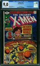 The X-MEN  #123  High Grade!  CGC  VF/NM9.0 Spider-Man Cover