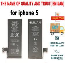 Genuine Original EMIJAN Replacement Battery For IPhone 5 Zero Cycle1440 mAh