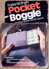 Parker Brothers Boggle Word Search Game Pocket Travel Edition 1979 NEVER USED