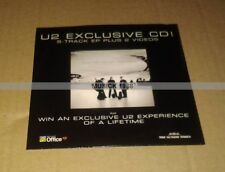 U2 EXCLUSIVE CD PROMO Paru dans le SUNDAY TIMES COLLECTOR
