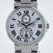 Ulysse Nardin Maxi Marine Chronometer, Ref 263-67, Mens, St Steel, White Dial