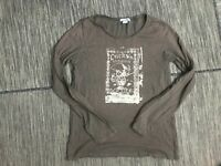 Lucky Brand Men's Large Long Sleeve Graphic Tee T Shirt