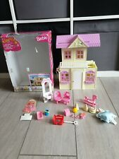 VINTAGE BARBIE KELLY SHELLY Pop Up Playhouse, Horses, Train, Dolls , Furniture