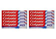 10x 100ml Colgate Sensation White mit Fluorid Zahncreme Zahnpasta Toothpaste NEU