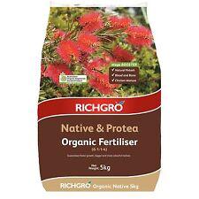 Richgro ORGANIC FERTILISER 5kg Native & Protea Boost Growth & Health Aust Brand