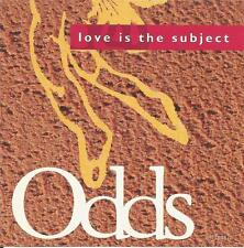 Odds Love Is The Subject  Promtional CD Single  1991  Zoo / BMG 2 tracks