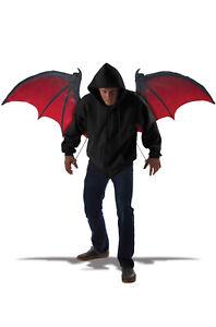 Bloodnight Vampire Bat Wings Costume Accessory
