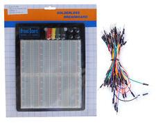 Tektrum Solderless 2200 Tie Points Experiment Plug In Breadboard Kit With Wires