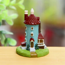 Moomin Valley House Statue Figure Toy Figurine Doll Home Yard Decor