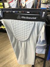 McDavid Md 755T Men's Pro Model HexPad Padded Football Girdle Shorts Gray S