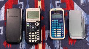 TEXAS INSTRUMENTS TI-84 Plus Ti 84 Plus Graphing Calculator Black + TI-34 MV