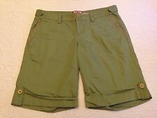 Juicy Couture Green Casual Shorts - Size 0