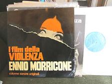 ENNIO MORRICONE I FILM DELLA VIOLENZA SOUNDTRACK 2 LP RARE ITALY w/book '75 WOW!