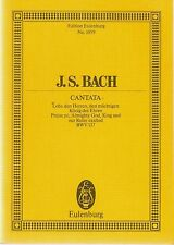 J.S. Bach, Cantata, Praise ye, Almighty God, King and our Ruler exalted, Eu1059