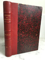 Obras de Bossuet Cinquième Parte Mezcla Lee Y Tralin 1889