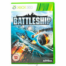 Battleship (Xbox 360) Rare First Person Shooter Action Childrens Boys Kids Game