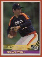 1984 Donruss #60 Nolan Ryan Mint+ Factory Set Break Houston Astros FREE SHIPPING