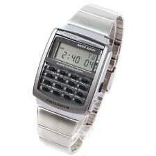 d40638fe6b43 Reloj digital nuevo de Plata Inoxidable CASIO CA-506-1UW Impermeable la  vida cotidiana